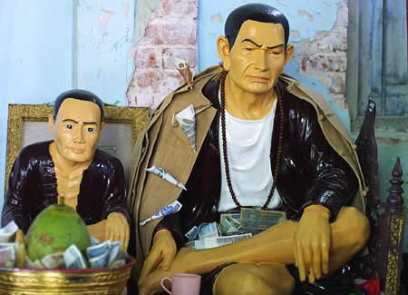 ミャンマーで最も有名な聖人・ボー・ミン・ガウン。しかし、どう見てもカタギではない。